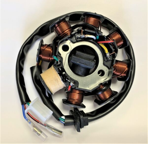 150cc Stator MAGNETO SCOOTER chinese 8 coil gy6 engine DC STATOR 2301E $18.99
