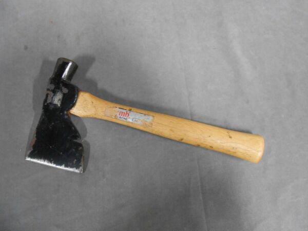 Vintage PLUMB Wood Handle Roofers Roofing Hammer Hatchet
