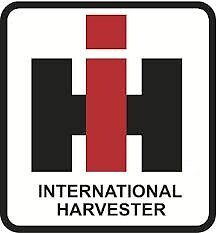 (2x) International Harvester IH Sticker Die Cut Decal Self Adhesive Vinyl