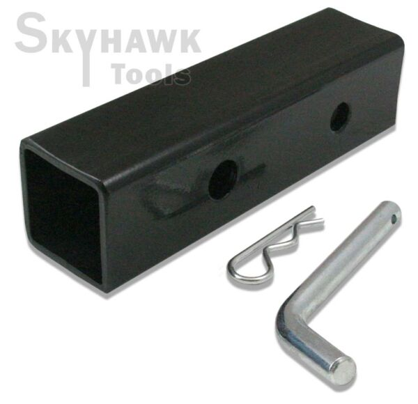 New 2quot; to 1 1 4quot; Hitch Receiver Adapter Converter Reducer Trucks RV Trailers $14.99