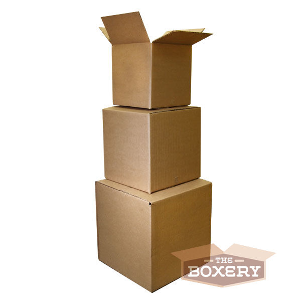 100 8x6x4 Corrugated Shipping Boxes 100 Boxes