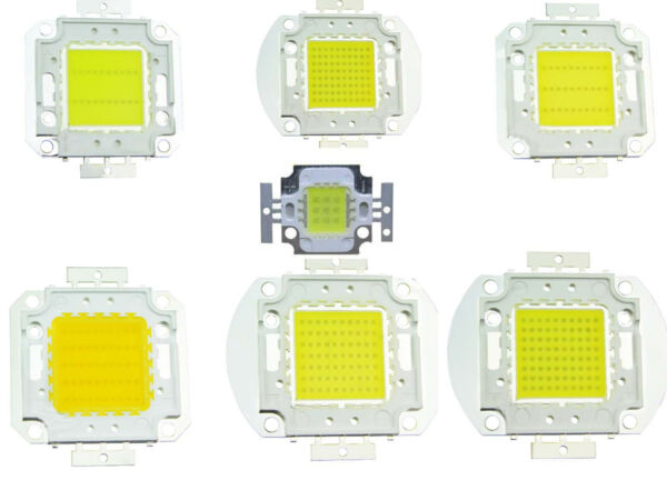 10w 20w 30w 50w 70w 80w 100w High power LED Chip warm cool white F Aquarium $6.78