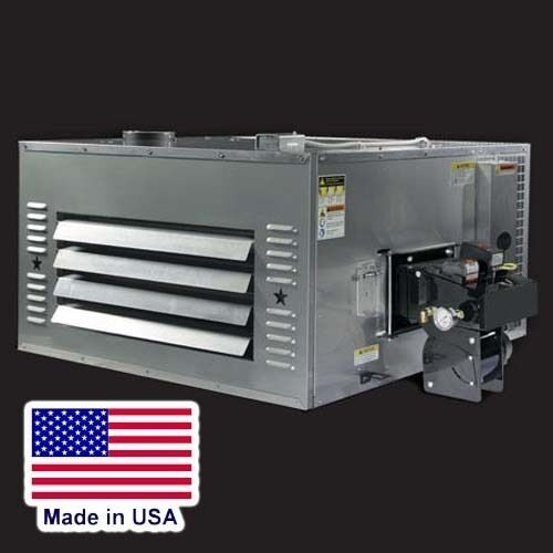 WASTE OIL HEATER - 150000 BTU - 120V - 215 Gal Tank 8ft Stand