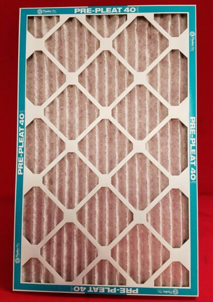Flanders MERV 8 Air amp; Furnace Filters Pleated 16x25x1 80055.011625 CASE OF 12 $54.99