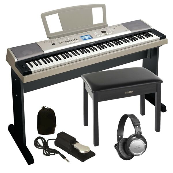 Yamaha YPG-535 Portable Grand Keyboard COMPLETE HOME BUNDLE