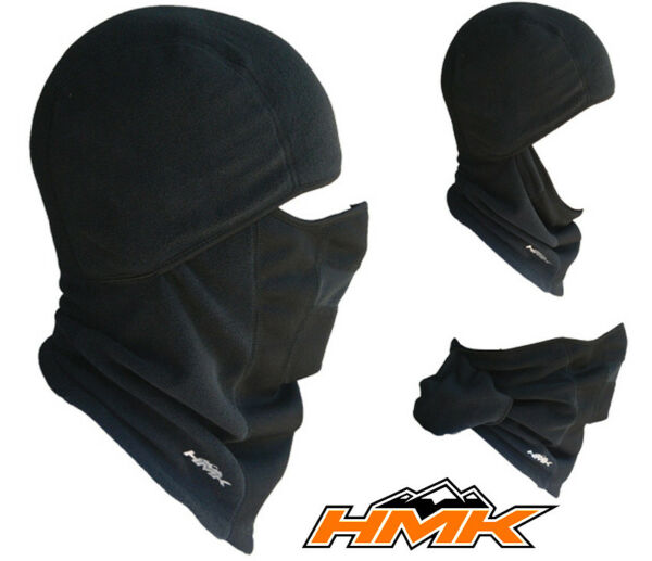 HMK - Exposure Fleece Balaclava Winter Moisture Wicking Head Sock Snow- 2 Sizes!