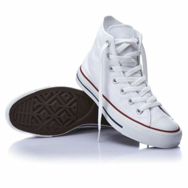 Converse Hi Top Star Chuck Taylor Optical White Mens Womens Shoes All Sizes