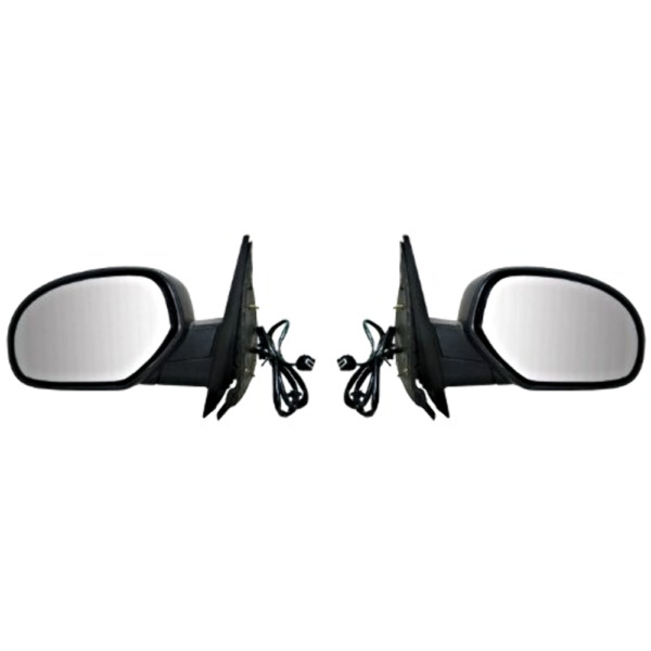 Fits 07-14 Chev Tahoe GMC Yukon / XL Left & Right Set Power Mirror Heat Man Fold