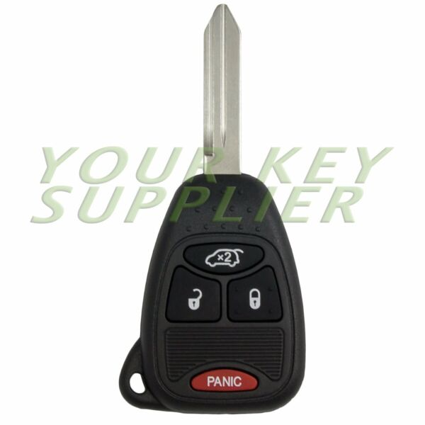 Replacement Jeep Liberty Chrysler Pacifica Remote Head Key Fob Transmitter