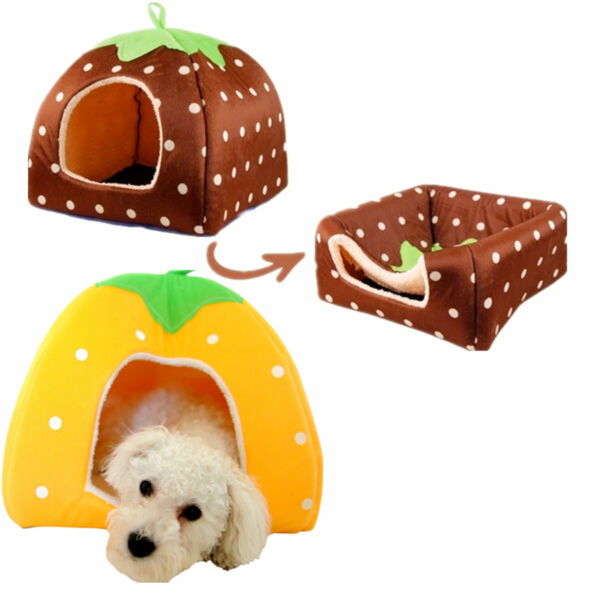Super New Soft Pet Dog Cat Bed House Kennel Doggy Warm Cushion Basket $12.99