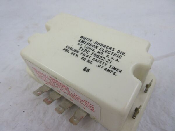 F5022-21 WHITE RODGERS CNT0963 TRANE WG27X0017 CYCLING PILOT SAFETY TIMER