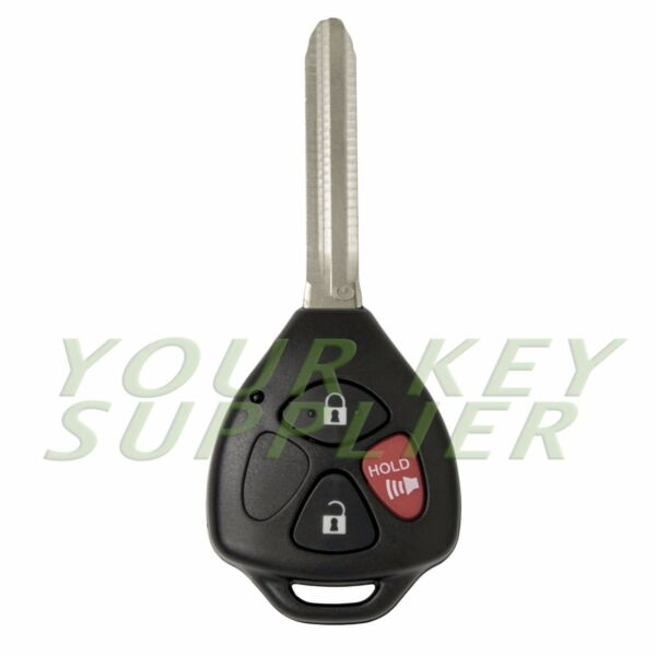 New Replacement Keyless Entry Remote Head Key Fob for Rav4 4Runner Yaris
