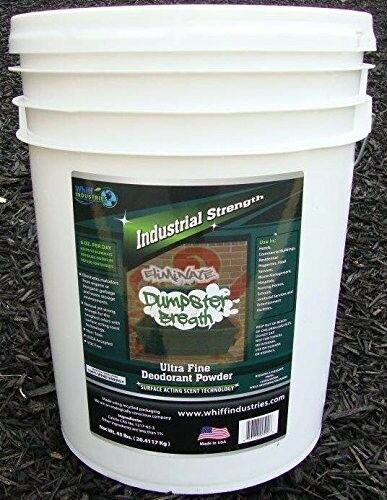 Dumpster Breath® Heavy Duty Commercial Odor Control Pail Deodorant 5Gallon 45Lbs