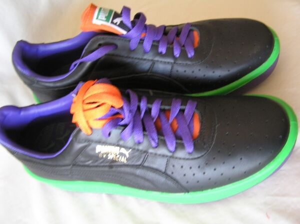 Puma GV Special 344581 03 Atheltic Shoe Size 10 1/2 Multicolor Live Green