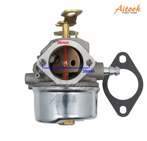 Carburetor for Tecumseh LH318SA LH358SA HMSK90 8HP 9HP 10HP Engine snow blowe