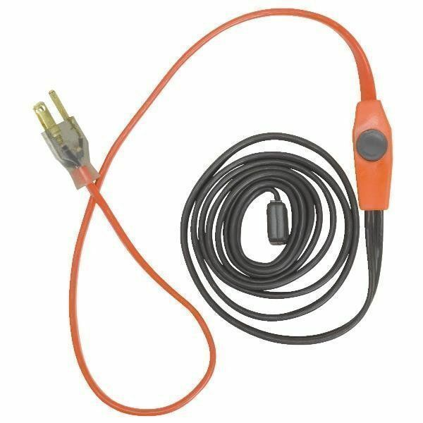 Easy Heat Tape 30'  Electric Pipe Heating Cable Freeze Protection FROZEN PIPES?
