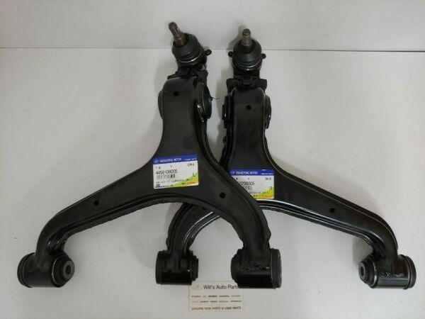 GENUINE BRAND NEW FRONT LOWER CONTROL ARM SET SUITS SSANGYONG REXTON 2002-2006