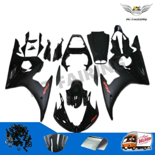 Black Fairing Fit for 03 05 Yamaha R6 06 09 YZF R6s Injection Mold Plastic z08 $579.99