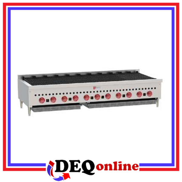 Wolf SCB60 Counter Model Gas Charbroiler 60