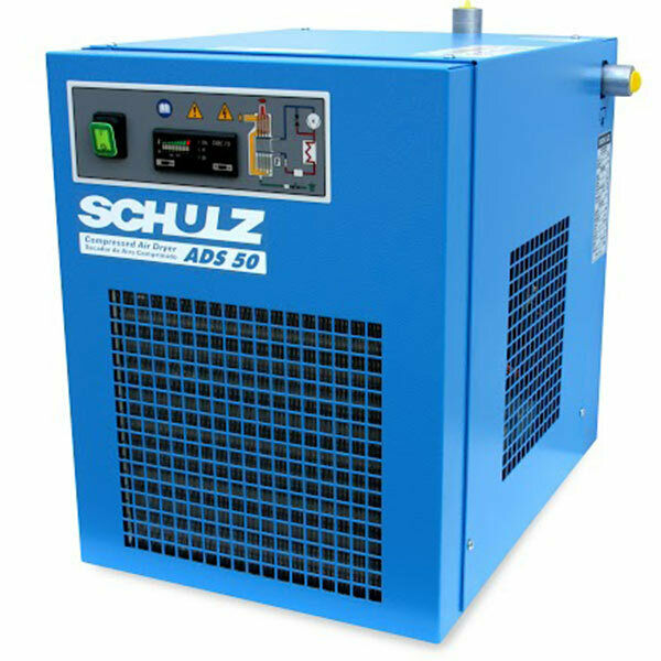 Schulz ADS 50 Non-Cycling Refrigerated Compressed Air Dryer (50 CFM 115V 1-Ph...