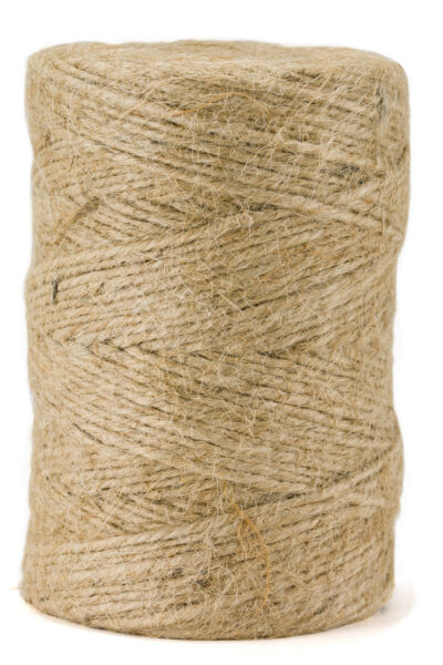 360' Premium Jute Twine String All-Natural 3-ply Cord Rope for Craft Gift DIY