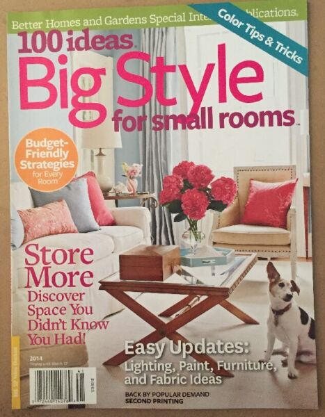100 Ideas Big Style For Small Rooms Easy Updates Tips Tricks 2014 FREE SHIPPING!