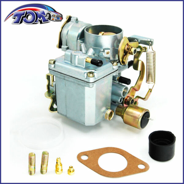 New 34 Pict 3 Carburetor 12V Electric Choke For VW Beetle 113129031K $62.69