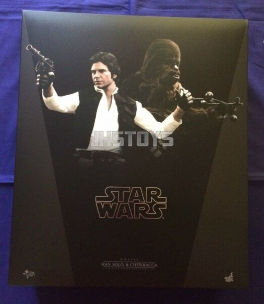 Hot Toys 16 Star Wars Episode IV 4 A New Hope Han Solo & Chewbacca MMS263 Japan