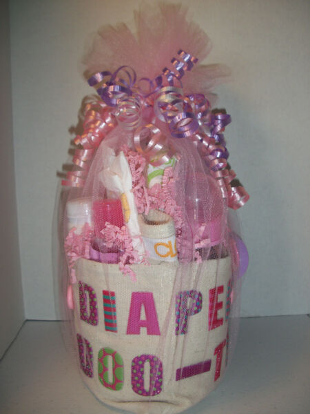 GIRL DIAPER DOO-TY TOOL BELT DAD BROTHER SISTER GRANDPA  BABY SHOWER GAG GIFT