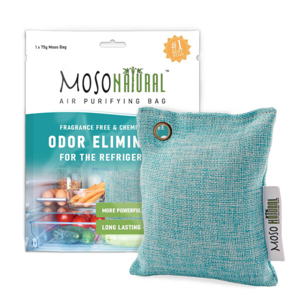 MOSO NATURAL Air Purifying Bag Deodorizer for Refrigerators and Freezers $8.42