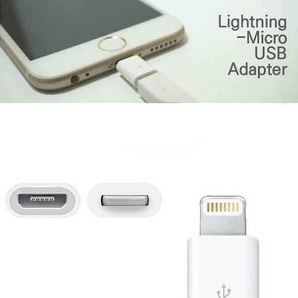 Micro USB 5 Pin to 8 Pin Type C 30pin to 8pin Lightning Adapter Samsung Android