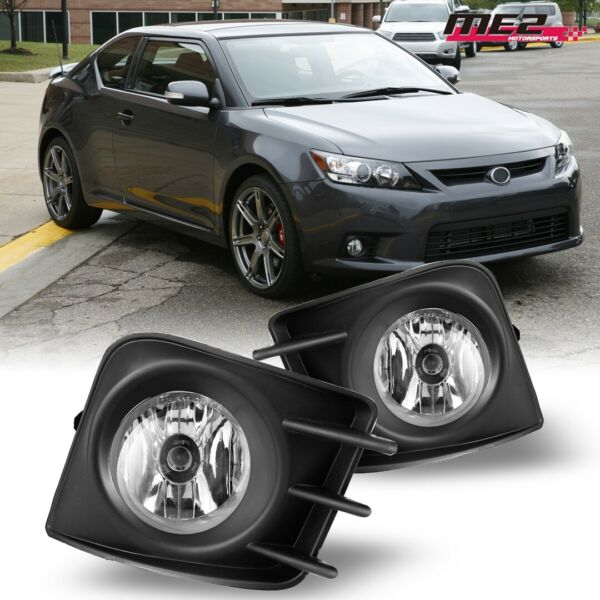 For 11 13 Scion tC PAIR OE Style Factory Fit Fog Light Bumper Kit Clear Lens $39.99