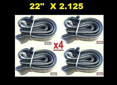 22quot; Lot of 4 Bicycle Bike Cycle Inner Tube 22 x 2.125 Creeper NEW $19.95