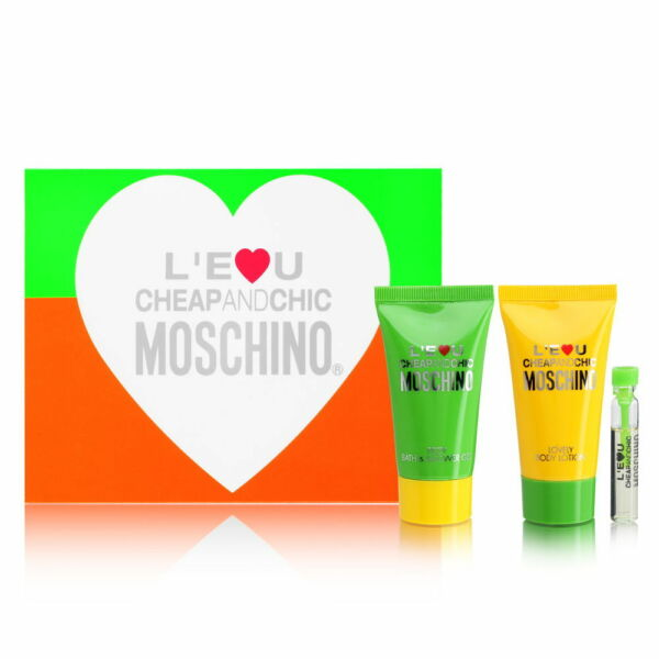 L#x27;eau Cheap and Chic by Moschino for Women Sampler Kit $3.99