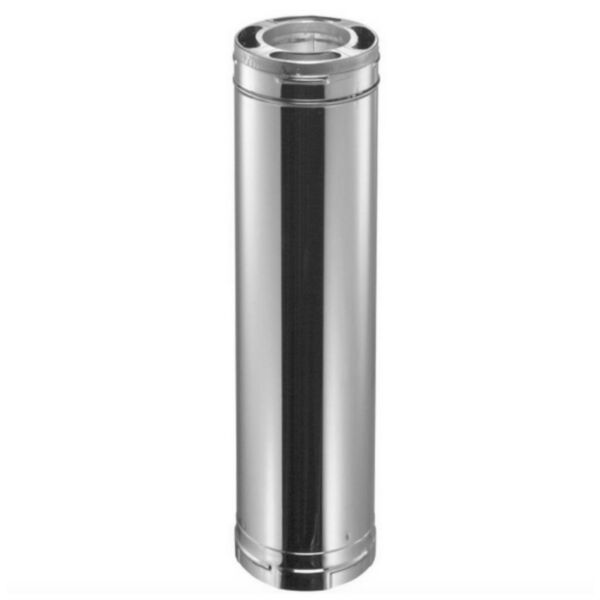 DuraVent Stainless Steel Triple Wall Chimney Wood Stove Pipe Insulated Liner New