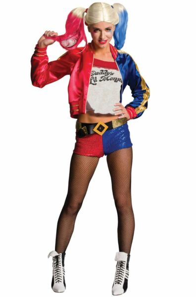 Birds Of Prey Harley Quinn Women's Or Teen Costume Harley Quinn Suicide Squad