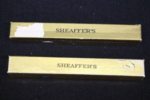 Lot of 2 VINTAGE SHEAFFER#x27;S Eversharp Pens Pencils #D22 Black amp; #D23 Brown
