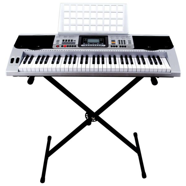 61 Key Music Electric Keyboard Digital Electronic Piano Organ w/Stand Portable