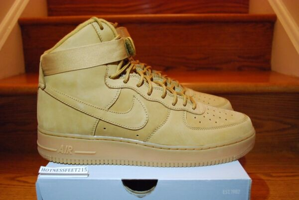 Nike Air Force 1 High '07 LV8 Flax Wheat Collection 882096 200 Size: 7.5-15