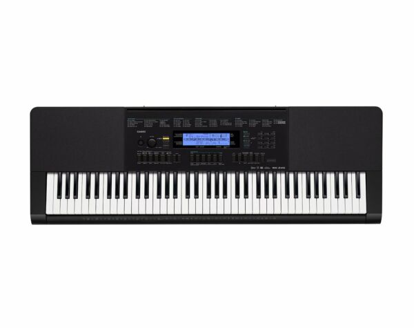 Casio WK-245 76-Piano Style Key Workstation Keyboard with Power Supply!