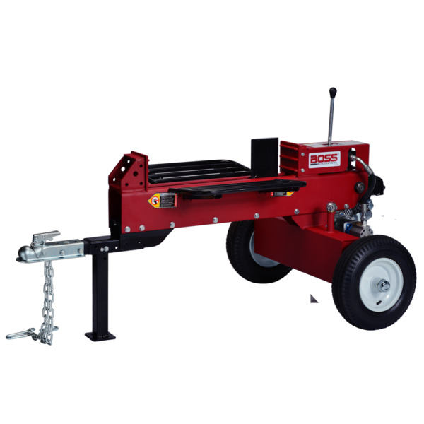 Boss Industrial 16-Ton Horizontal Dual-Action Gas Log Splitter