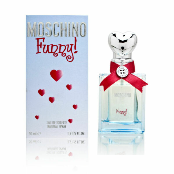 Moschino Funny by Moschino for Women 0.8 oz EDT Spray Brand New $24.99