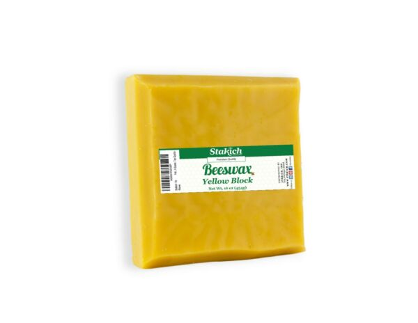 40 lb Square Beeswax Blocks Bee Wax Pure Natural Organically Produced Yellow