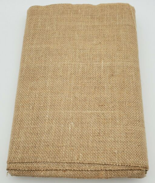 New 36cm x 10m Hessian Burlap Material Roll Wedding Table Runners. Ships fast