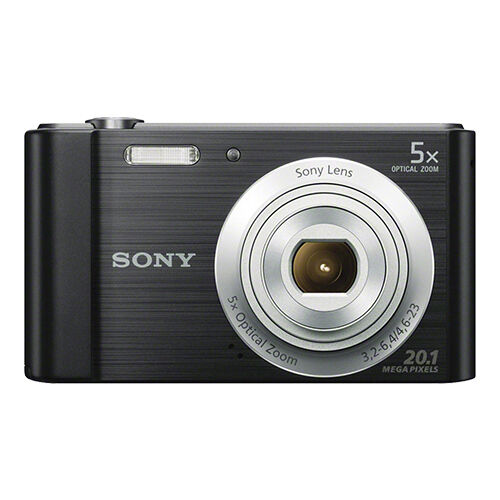 Sony Cyber shot DSC W800 20.1MP Digital Camera 5x Optical Zoom Black