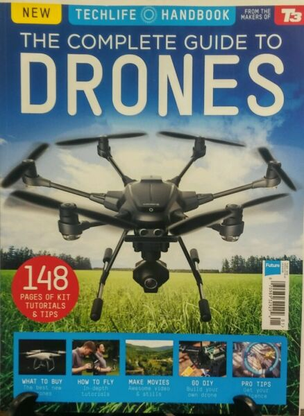Techlife Handbook The Complete Guide to Drones UK 2016 Tips FREE SHIPPING sb