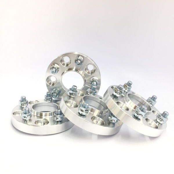 4pc Hubcentric Wheel Spacers Adapters  5x108  63.4 CB  25mm 1.0