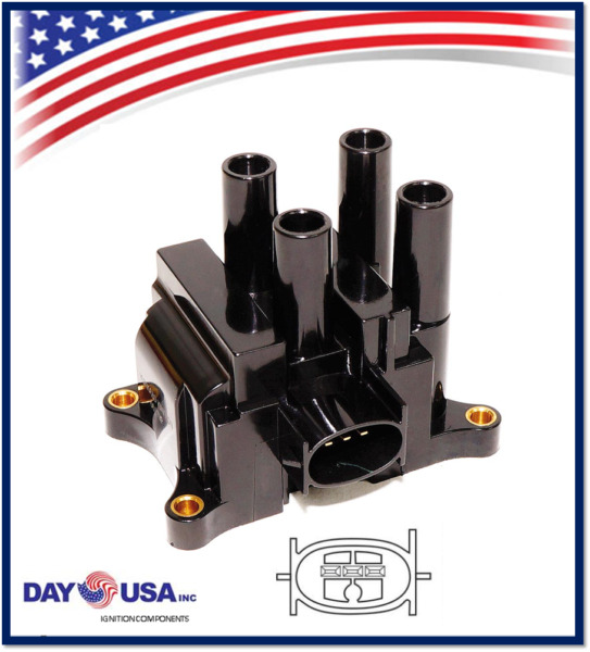 *NEW*  Ignition Coil Pack For Ford Mazda Mercury 2.0L  2.3L