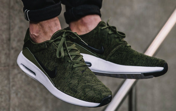 New NIKE Air Max Modern Flyknit Men's Running Shoes green white sizes 9-11.5