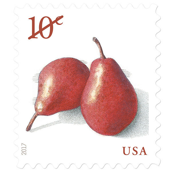 USPS New Pears  PSA stamp pane of 20